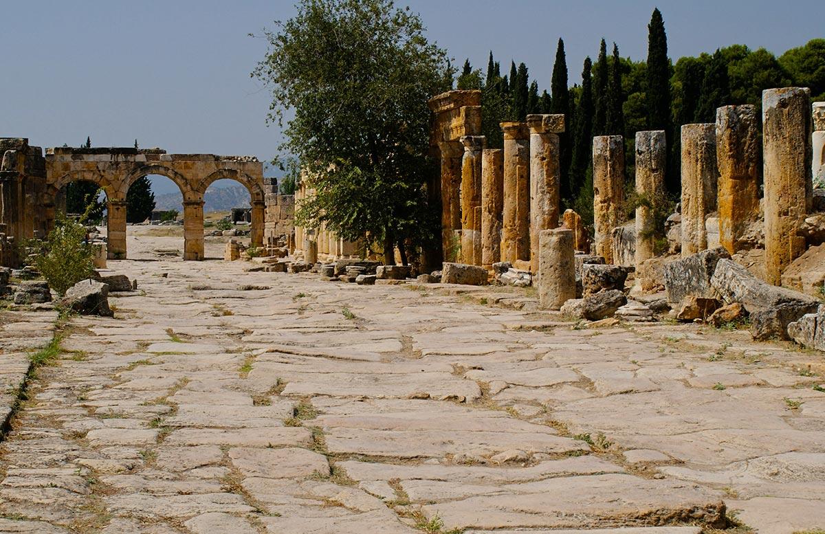 Starożytne miasto Hierapolis