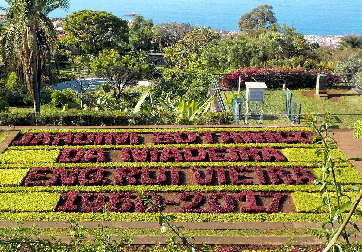 Madera -botaniczny ogród w Funchal