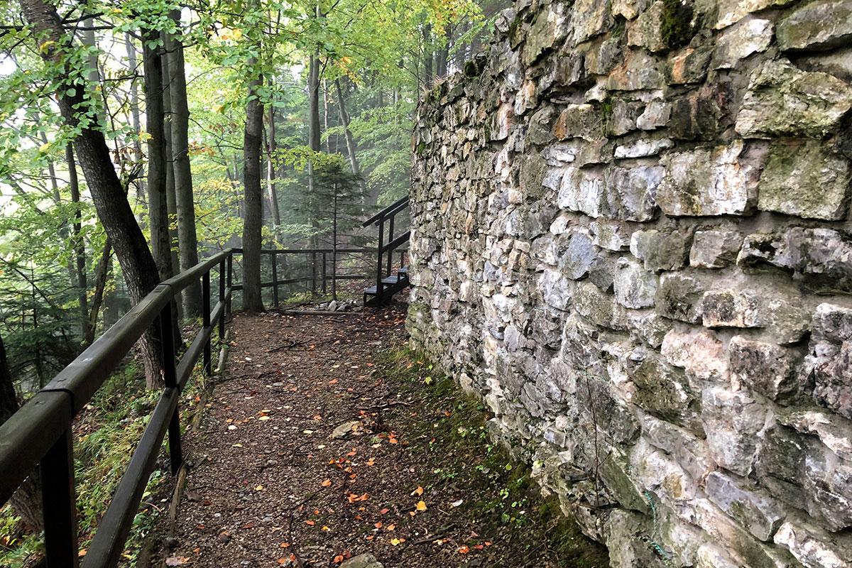 Ruiny Zamku Pieniny